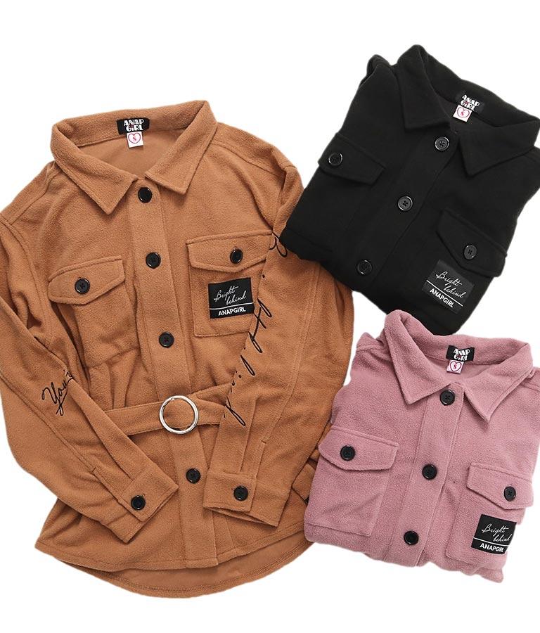 ベルト付CPOシャツ(トップス/シャツ・ブラウス) | ANAP GiRL