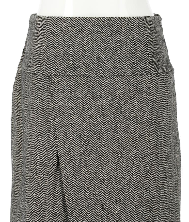 ヘリンボーンラップ風デザインストレートスカート(ボトムス・パンツ /スカート)   Settimissimo