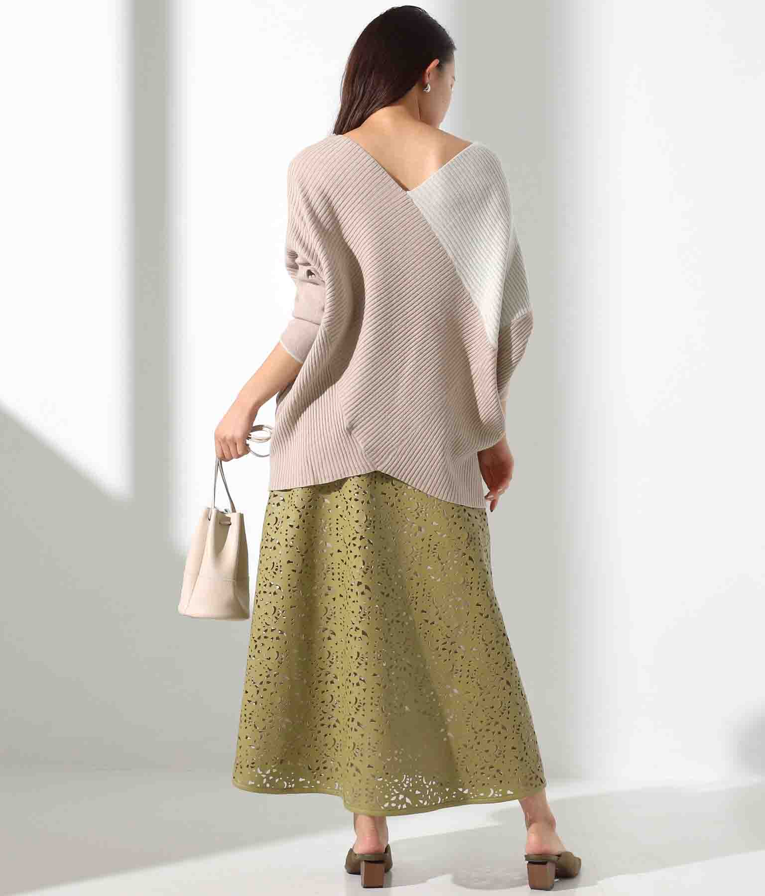 パンチングフレアスカート(ボトムス・パンツ /スカート) | Alluge