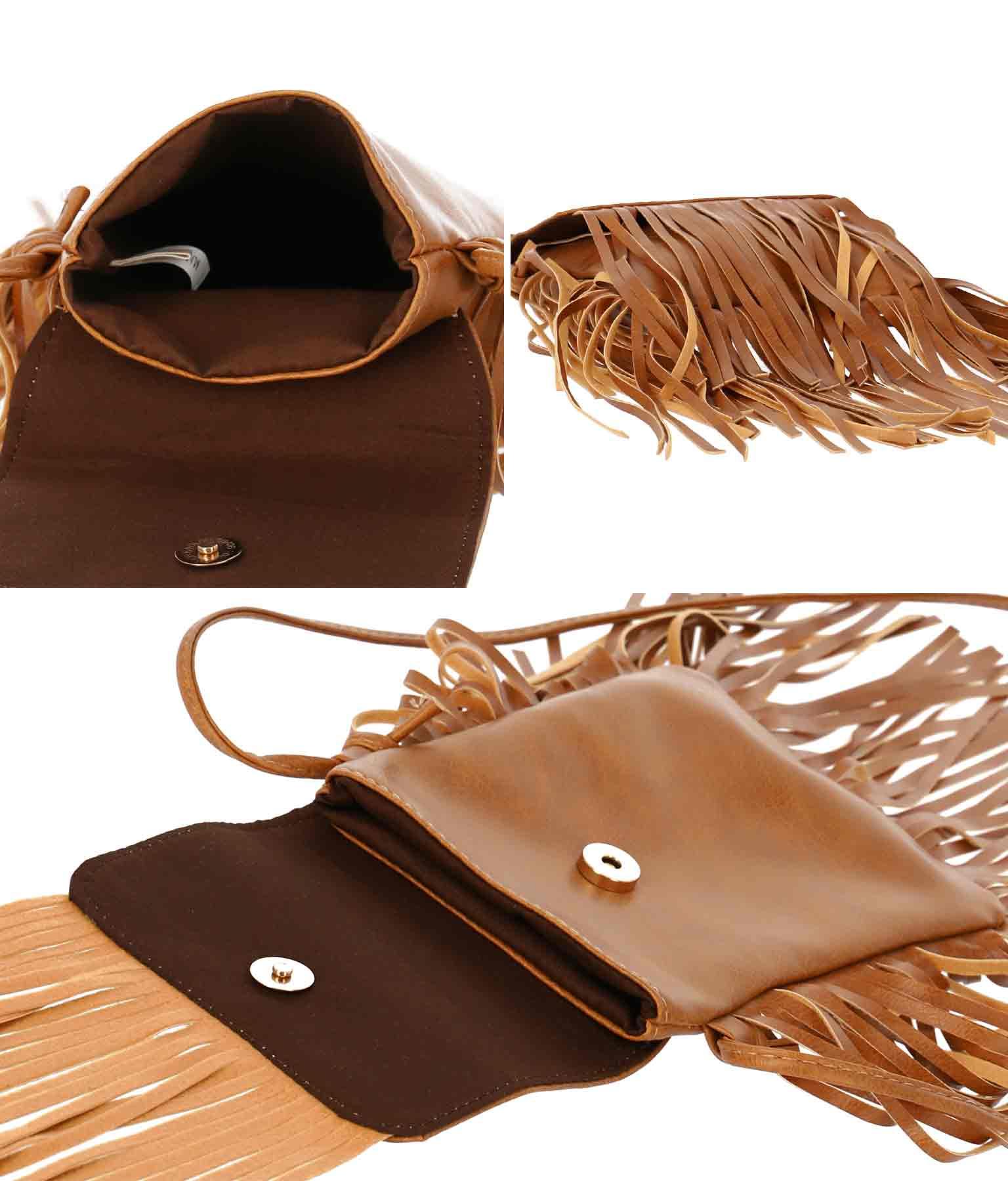 ボリュームフリンジミニバッグ(バッグ・鞄・小物/ショルダーポシェット) | anap mimpi