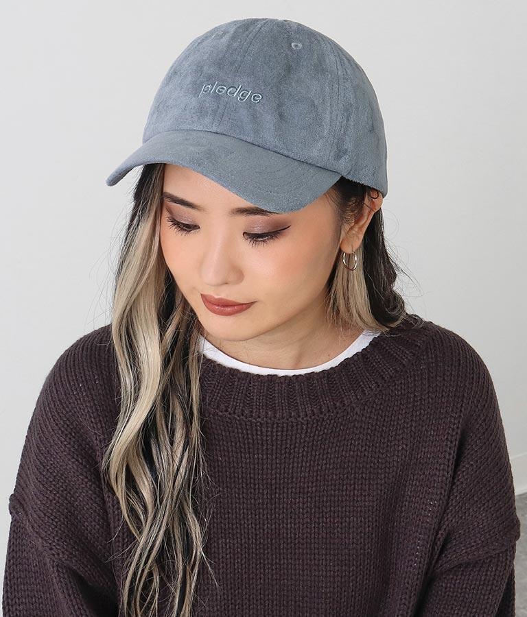 フェイクスエード刺繍キャップ(ファッション雑貨/ハット・キャップ・ニット帽 ・キャスケット・ベレー帽) | ANAP