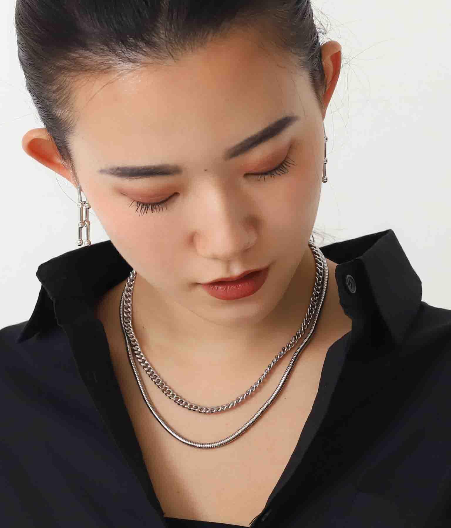 キヘイ×スネークチェーンネックレス(アクセサリー/ネックレス・ペンダント) | Alluge