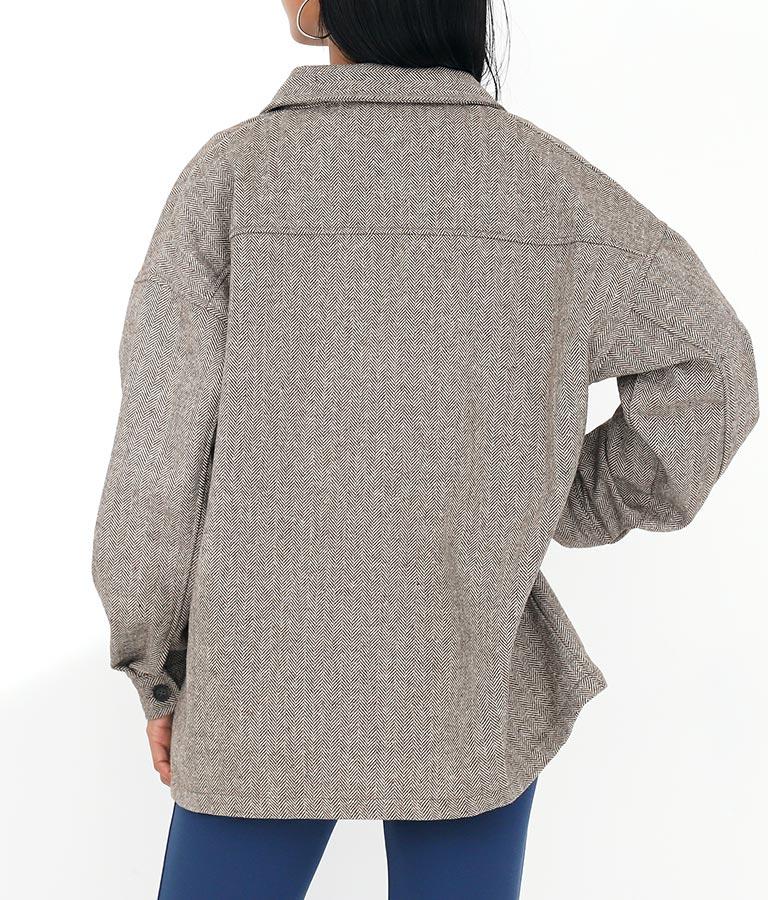 ヘリンボーン2ポケットカバーオール(アウター(コート・ジャケット) /ジャケット・ブルゾン) | Settimissimo