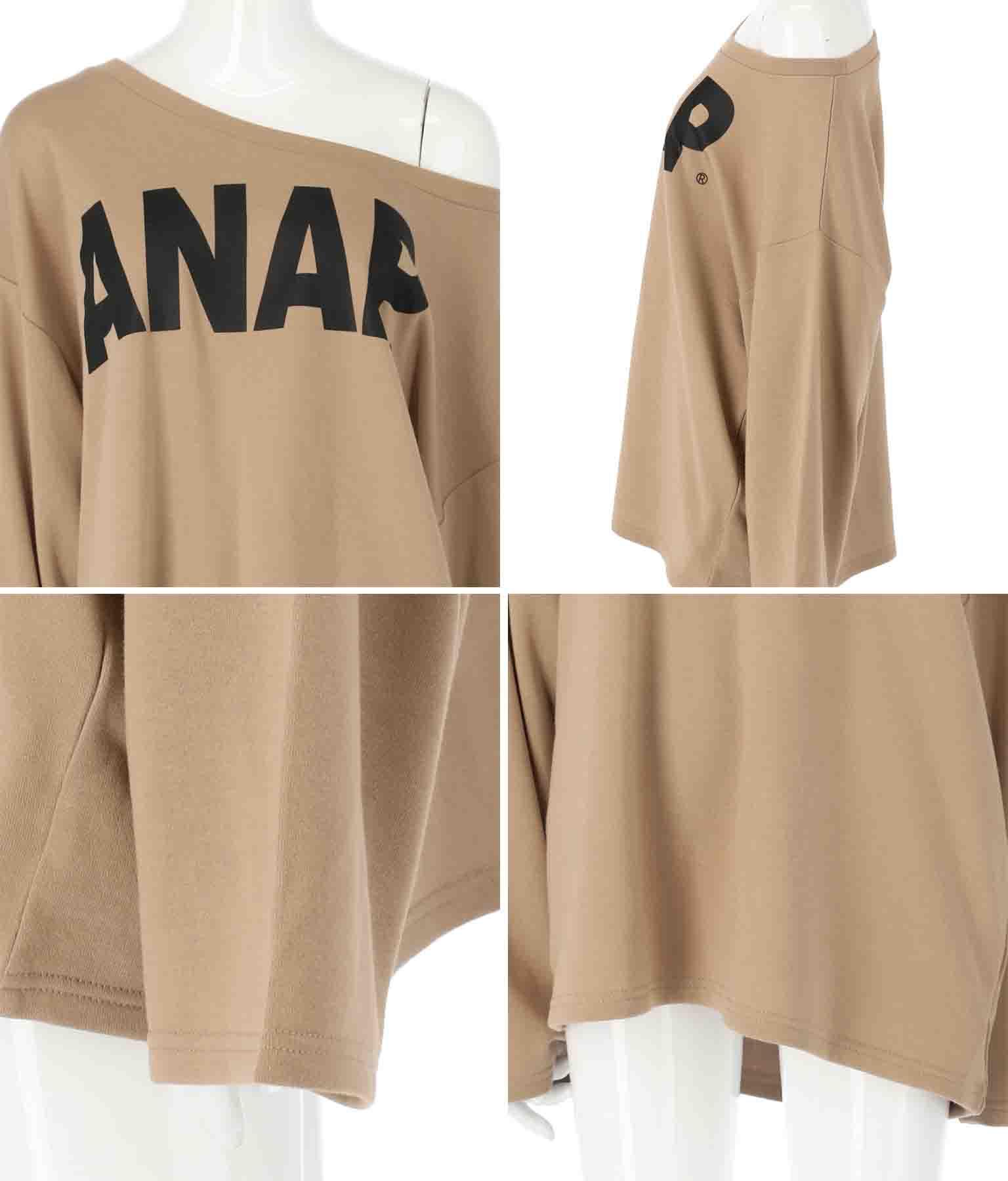 ANAPロゴワンショルダースウェットトップス(トップス/カットソー ・スウェット・トレーナー) | ANAP