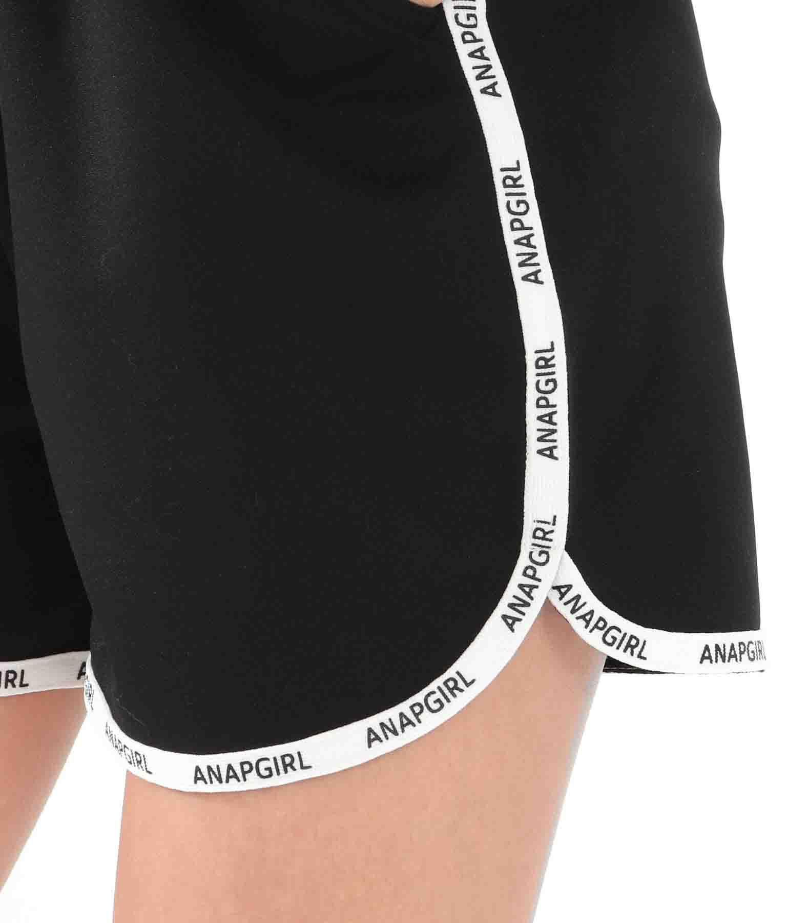 テープロゴジャージショートパンツ(ボトムス・パンツ /ショートパンツ) | ANAP GiRL