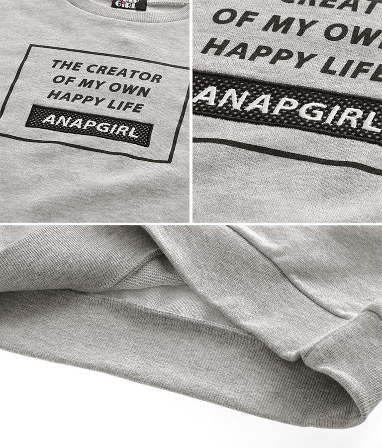 メッシュボックスクロップドトップス | ANAP GiRL