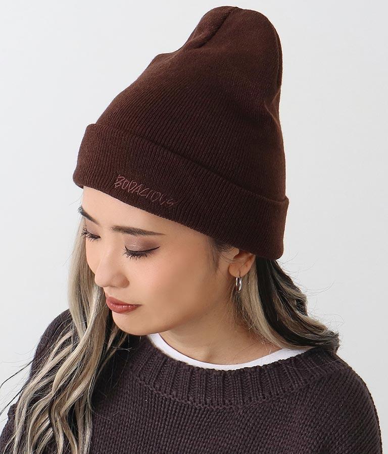 刺繍ビーニー(ファッション雑貨/ハット・キャップ・ニット帽 ・キャスケット・ベレー帽) | ANAP