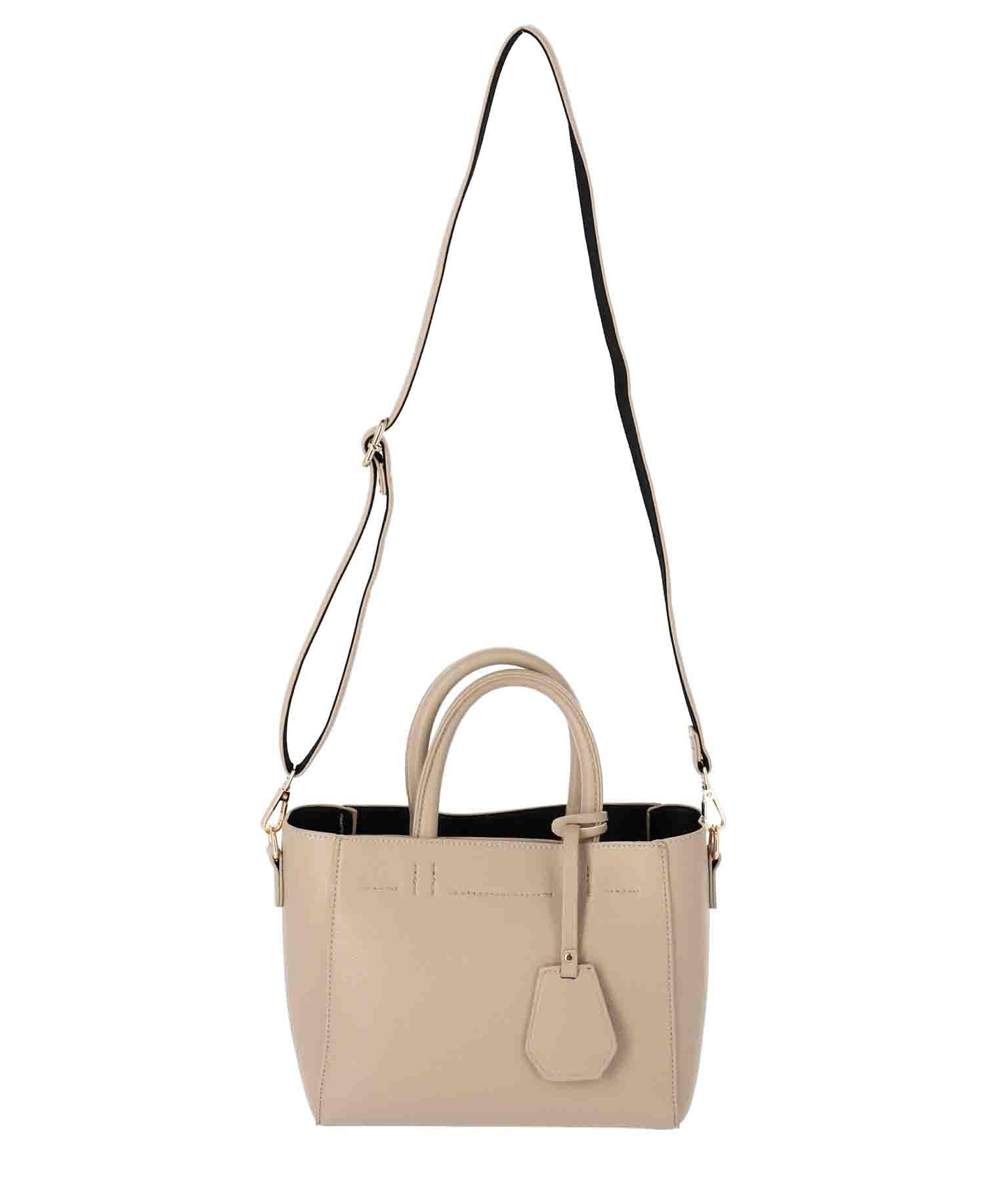 シンプル2WAYハンドバッグ(バッグ・鞄・小物/ハンドバッグ・ショルダーバッグ) | CHILLE