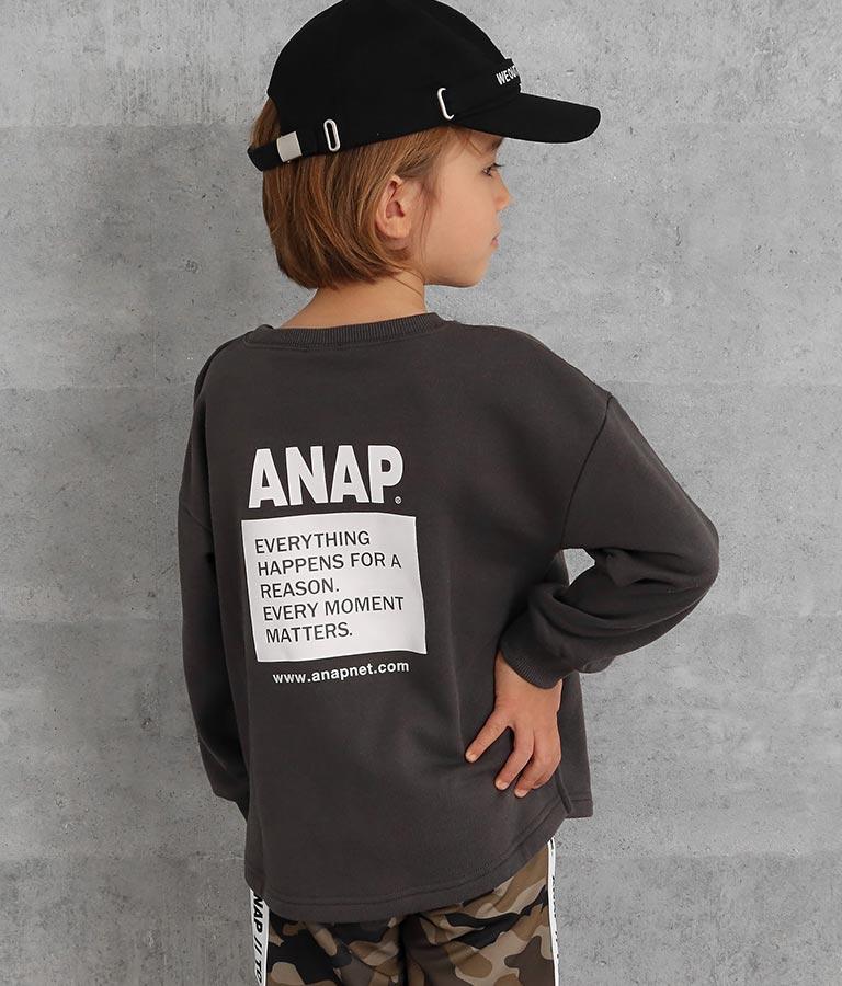 異素材ポケットトレーナー | ANAP KIDS