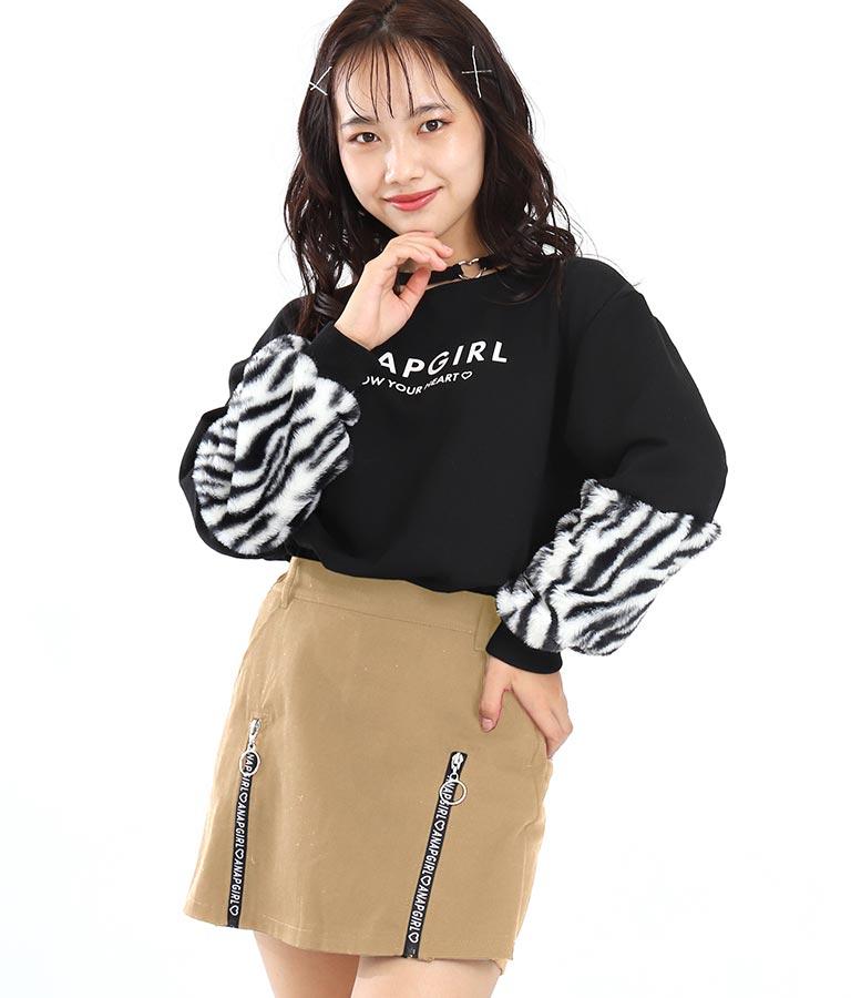 2ロゴジップスカパン(ボトムス・パンツ /ショートパンツ・スカート) | ANAP GiRL
