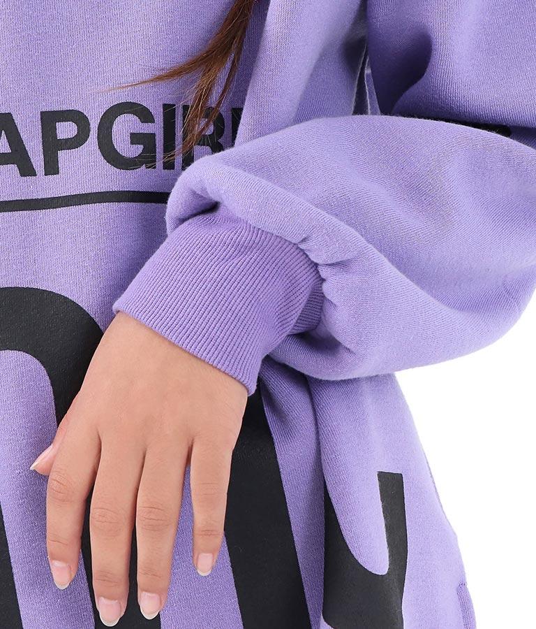 裾ビッグロゴパイル裏起毛トップス | ANAP GiRL