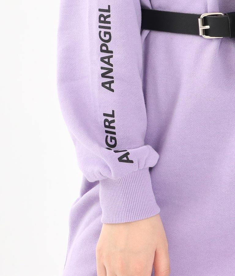 合皮バッグ付裏毛ワンピース(ワンピース・ドレス/ミニワンピ) | ANAP GiRL