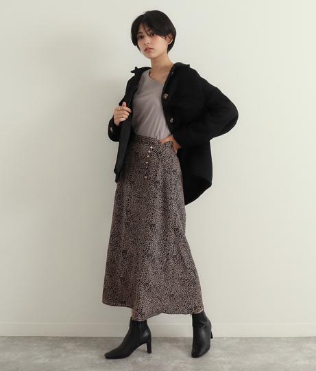 ヴィンテージ柄スカート(ボトムス・パンツ /スカート) | Factor=