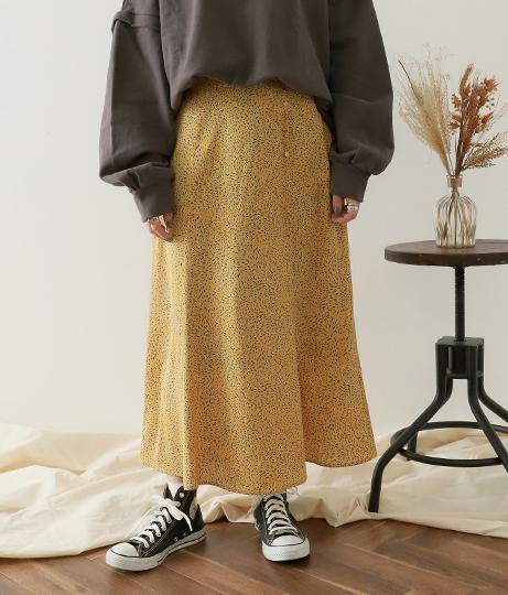 ヴィンテージ柄スカート