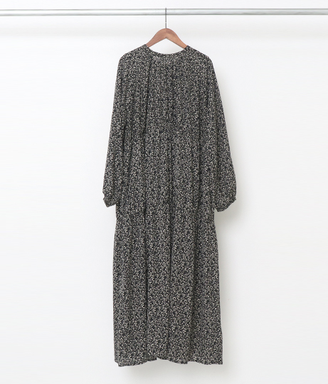 前後2wayギャザーワンピース(ワンピース・ドレス/ロングワンピ) | AULI