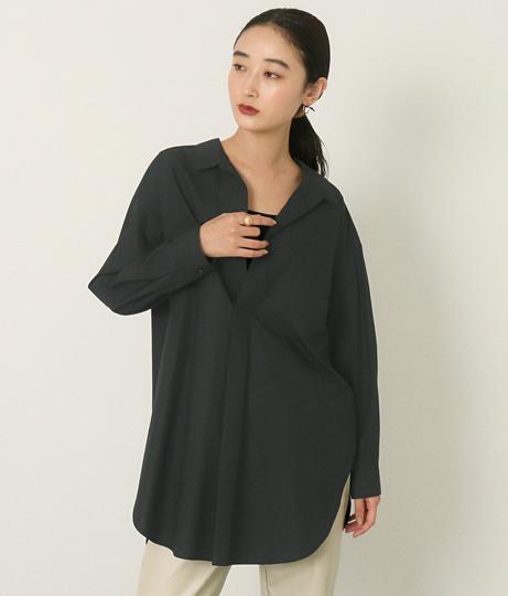 スキッパーシャツ(トップス/シャツ・ブラウス) | AULI