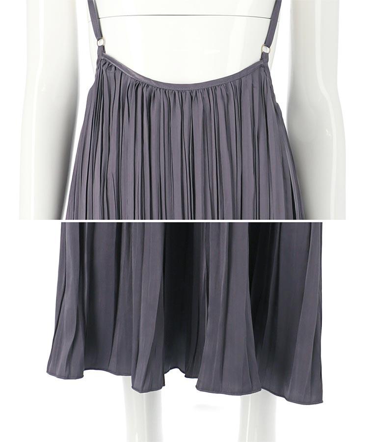 ビンテージサテンランダムプリーツスカート(ボトムス・パンツ /スカート)   Alluge