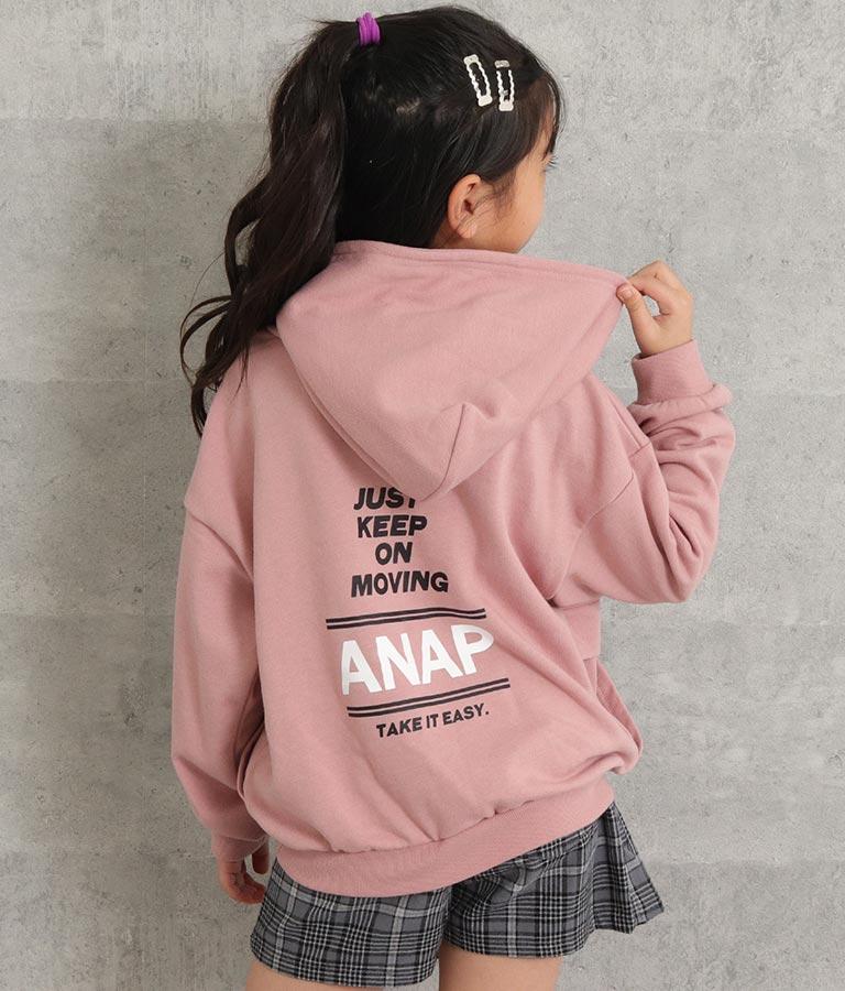 フラップポケットフードトレーナー | ANAP KIDS