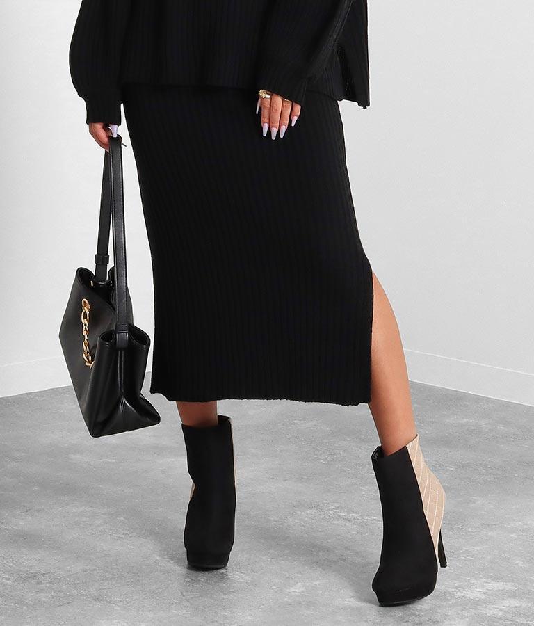 ディープスリットニットタイトスカート(ボトムス・パンツ /スカート)   anap Latina