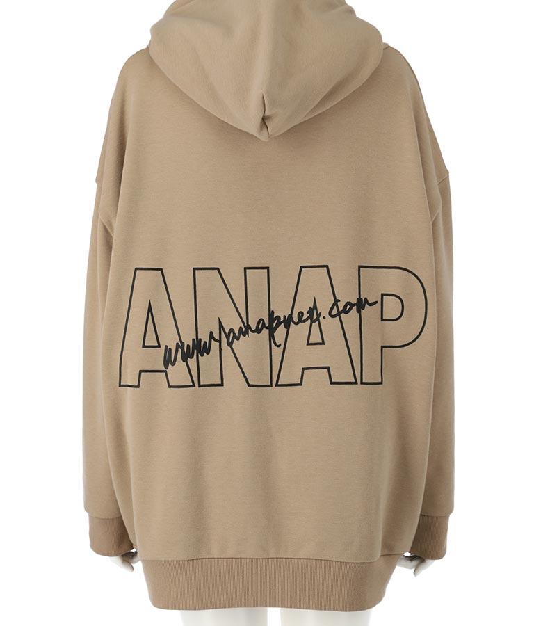 ANAPロゴ裏シャギーパーカー(アウター(コート・ジャケット) /パーカー) | ANAP