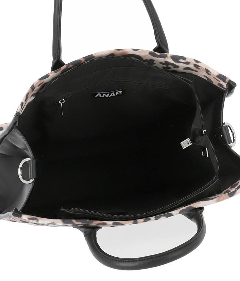 2WAYアニマル柄スクエアバッグ(バッグ・鞄・小物/トートバッグ) | ANAP