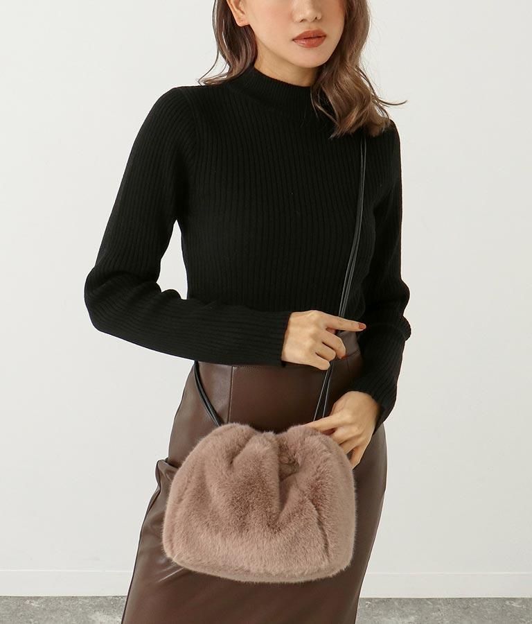 フェイクファーミニバッグ(バッグ・鞄・小物/ショルダーバッグ) | ANAP