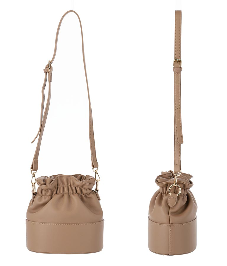 ツイストハンドル巾着バッグ(バッグ・鞄・小物/ハンドバッグ・ショルダーバッグ) | CHILLE