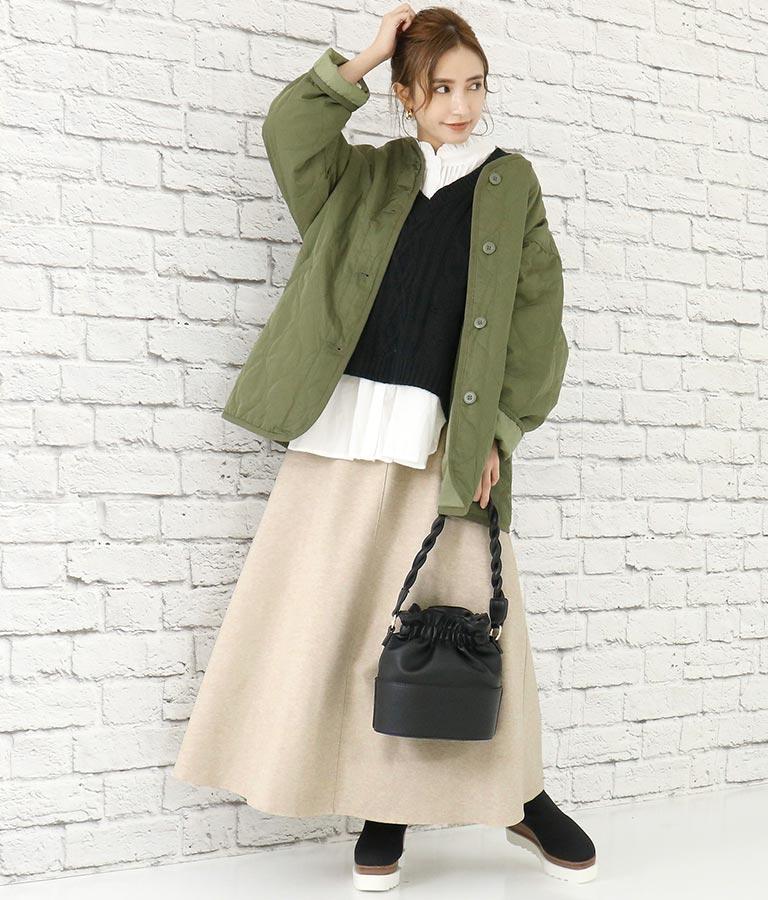 起毛ツイルAラインフレアスカート(ボトムス・パンツ /スカート) | CHILLE