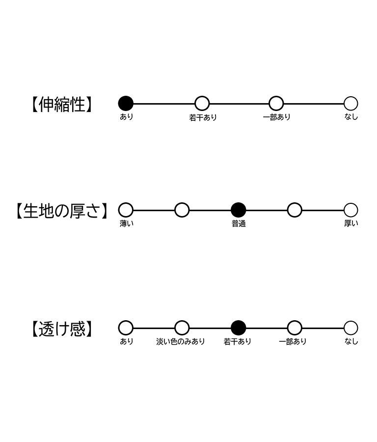チュール重ねケーブルニットトップス(トップス/ニット/セーター)   CHILLE