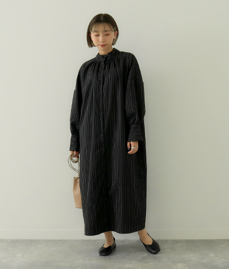 2WAYハイネックワンピース(ワンピース・ドレス/ミディアムワンピ) | Factor=