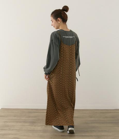 キャミワンピース(ワンピース・ドレス/ロングワンピ) | Factor=