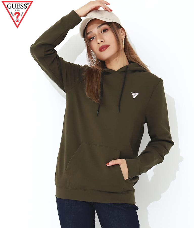 CHRISTIAN HOODIE FLE   GUESS