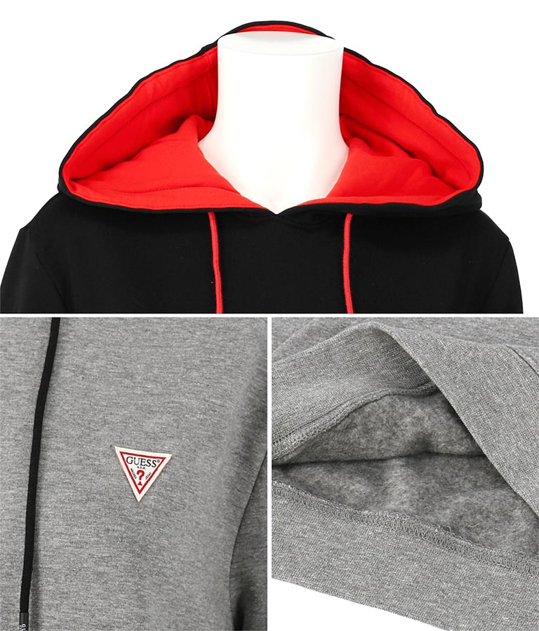 CHRISTIAN HOODIE FLE | GUESS