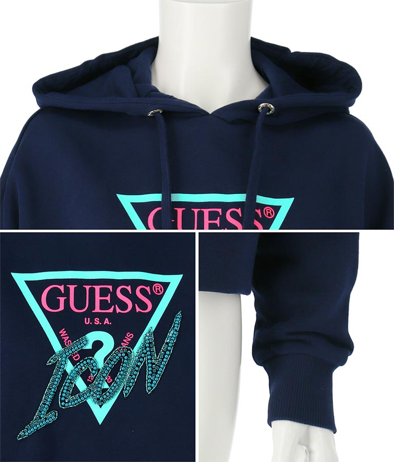 HOODY ICON FLEECE | GUESS