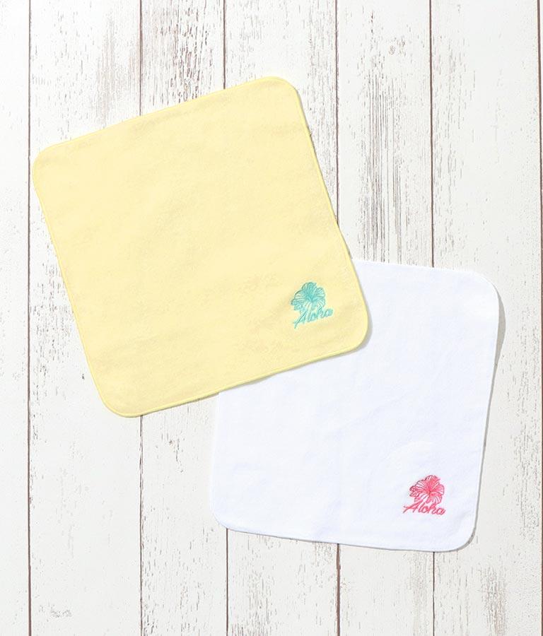 アロハ刺繍ハンカチ