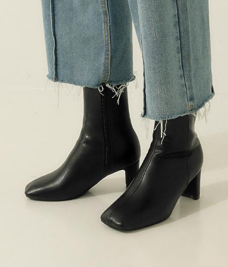 ワイドスクエアブーツ(シューズ・靴/ブーツ) | AULI