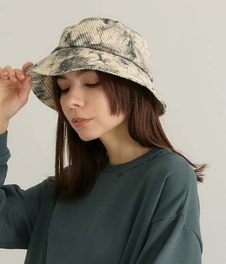 タイダイバケットハット(ファッション雑貨/ハット・キャップ・ニット帽 ・キャスケット・ベレー帽)   Factor=