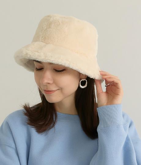 ファーバケットハット(ファッション雑貨/ハット・キャップ・ニット帽 ・キャスケット・ベレー帽) | Factor=