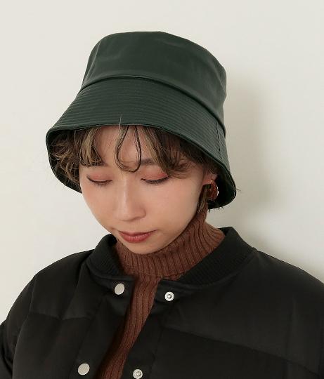 レザーバケットハット(ファッション雑貨/ハット・キャップ・ニット帽 ・キャスケット・ベレー帽) | Factor=