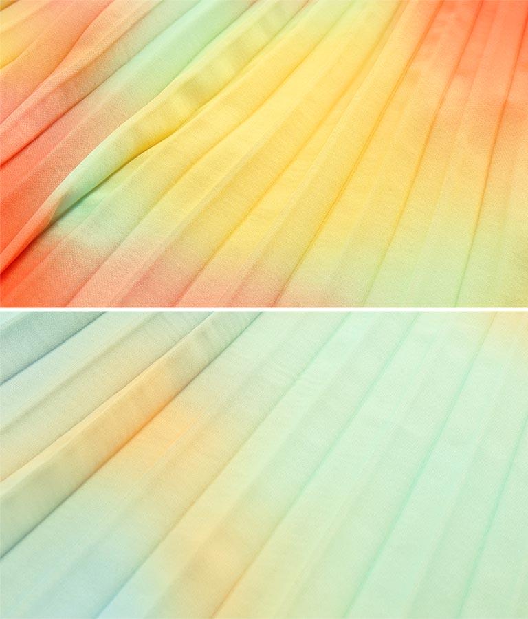 カラーグラデーションスカート(ボトムス・パンツ /スカート) | Alluge