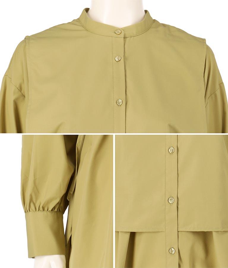 ヨークデザインシャツ(トップス/シャツ・ブラウス) | Alluge