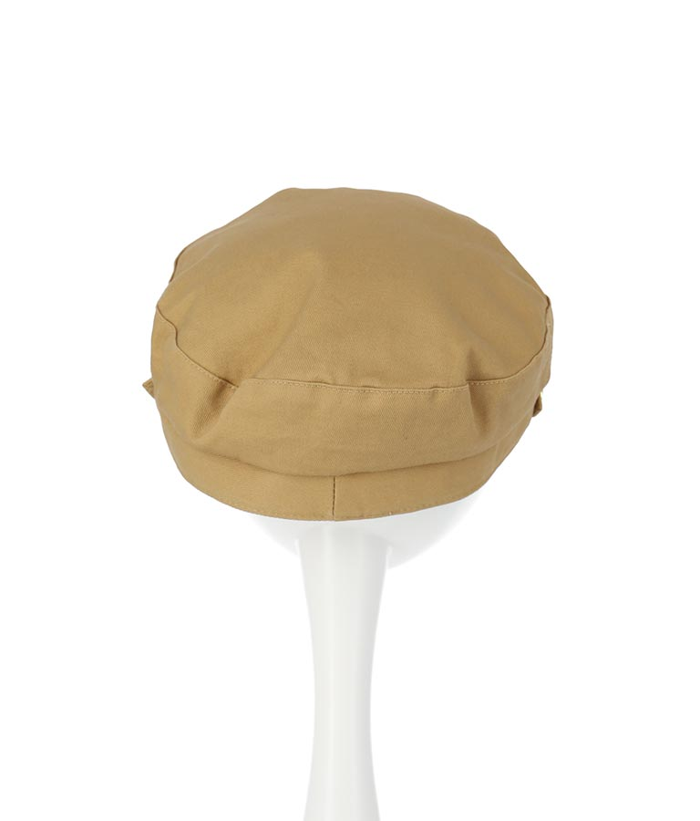 ベルト付マリンキャスケット(ファッション雑貨/ハット・キャップ・ニット帽 ・キャスケット・ベレー帽) | Alluge