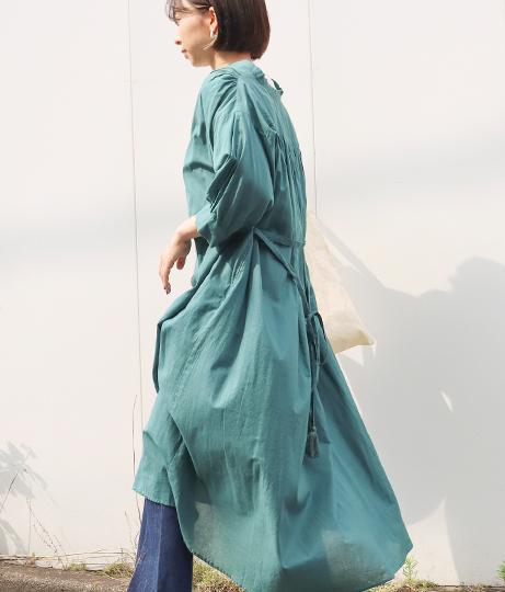 キャンブリックギャザーワンピース(ワンピース・ドレス/ロングワンピ) | Factor=
