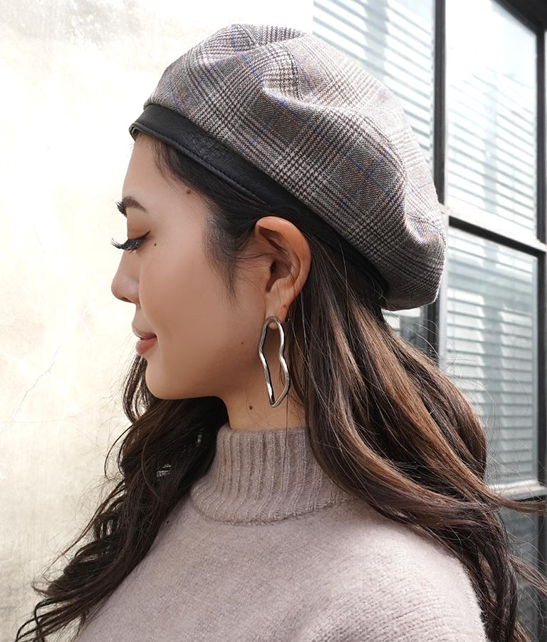 リバーシブルベレー帽(ファッション雑貨/ハット・キャップ・ニット帽 ・キャスケット・ベレー帽) | ANAP