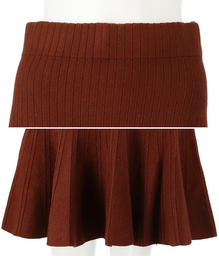 リブニットマーメイドスカート(ボトムス・パンツ /ミモレ丈スカート・スカート) | anap Latina