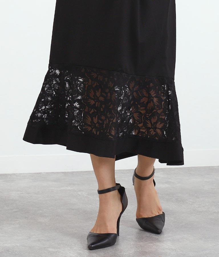 レース切替マーメイドスカート(ボトムス・パンツ /スカート) | Alluge