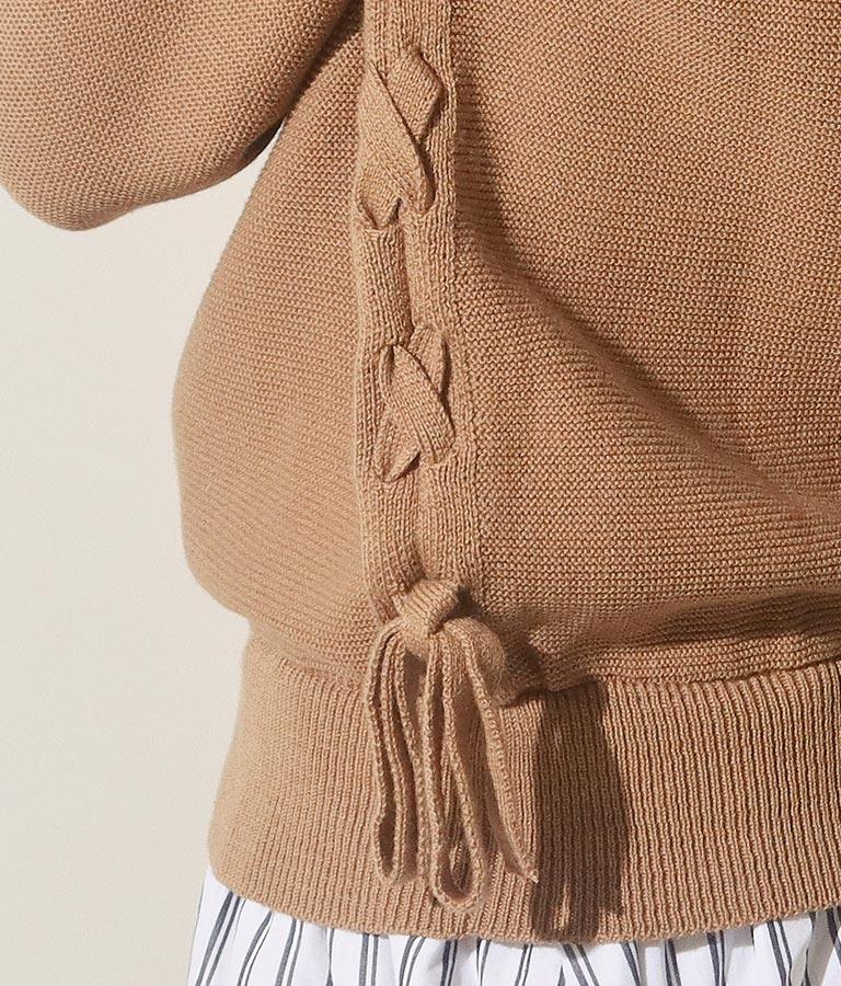 ストライプスカートドッキングワンピース(ワンピース・ドレス/ロングワンピ) | Alluge