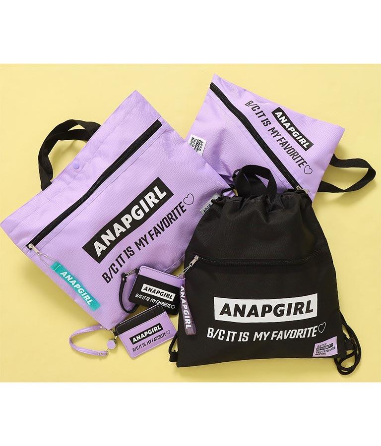 ナナメロゴシューズケース(バッグ・鞄・小物/トートバッグ) | ANAP GiRL