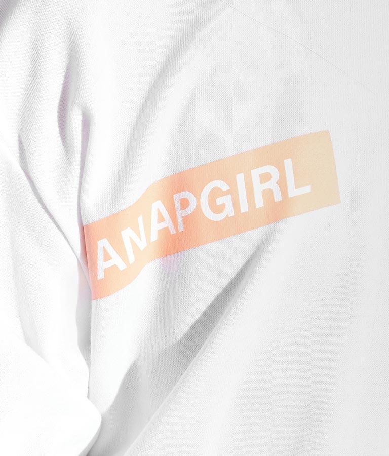 ランダムロゴビッグトップス(トップス/スウェット・トレーナー) | ANAP GiRL
