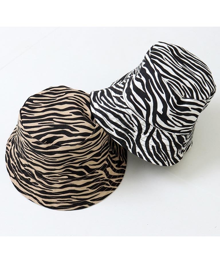 ゼブラリバーシブルバケットハット(ファッション雑貨/ハット・キャップ・ニット帽 ・キャスケット・ベレー帽) | ANAP